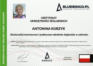 certyfikat żeglarski