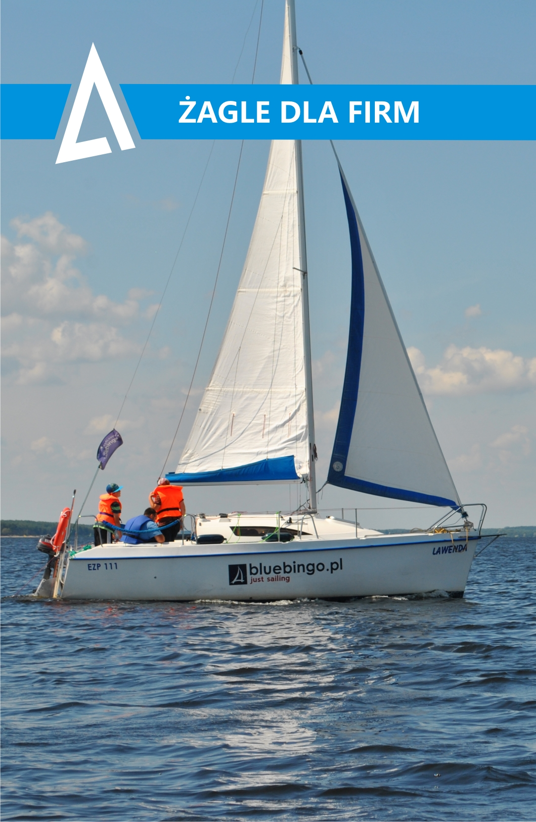 regaty firmowe, rejsy firmowe, szkolenia żeglarskie dla firm nad Zalewem Sulejowskim