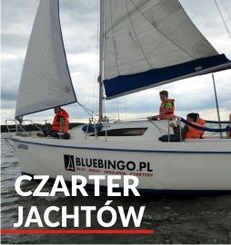 Czarter jachtów nad Zalewem Sulejowskim