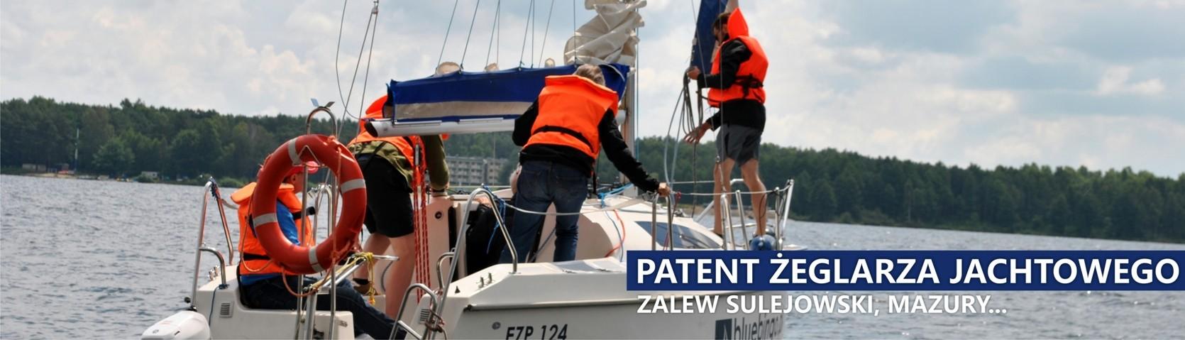 kurs na patent Zalew Sulejowski, Mazury