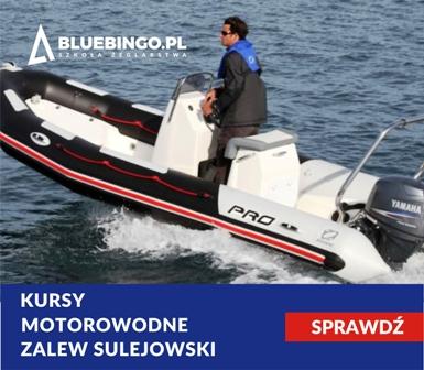 Kurs motorowodny  na patent sternika motorowodnego nad Zalewem Sulejowskim