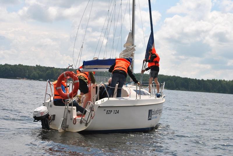 szkolenia żeglarskie nad Zalewem Sulejowskim
