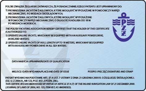 uzyskaj patent żaglarza jachtowego nad Zalewem Sulejowskim