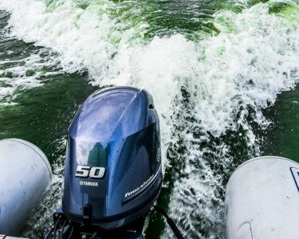 rib sportis z silnikiem yamaha 50 km