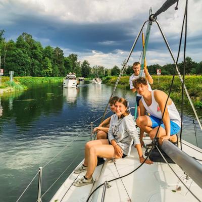 Mazury kurs na Patent żeglarza jachtowego
