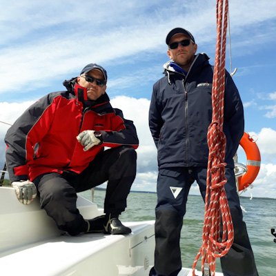 żeglarz jachtowy rejs po mazurach