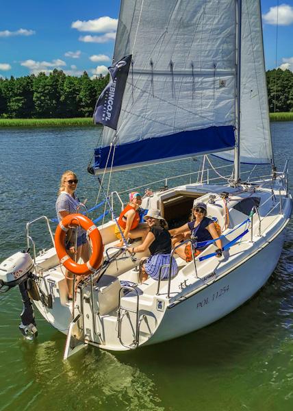 szkolenie żeglarskie na patent mazury